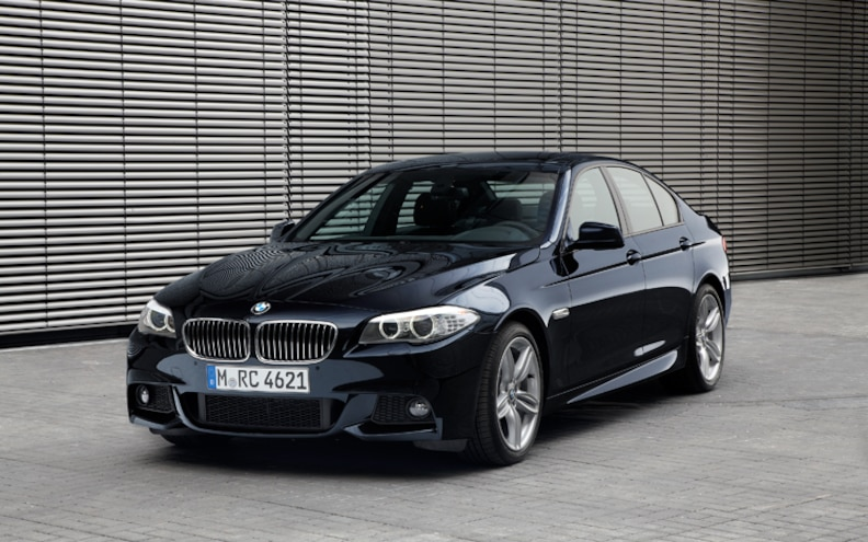 BMW 535d Front Three Quarter