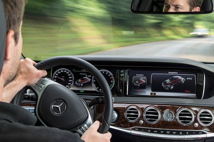 Mercedes Benz S500 Plug In Hybrid Interior 2