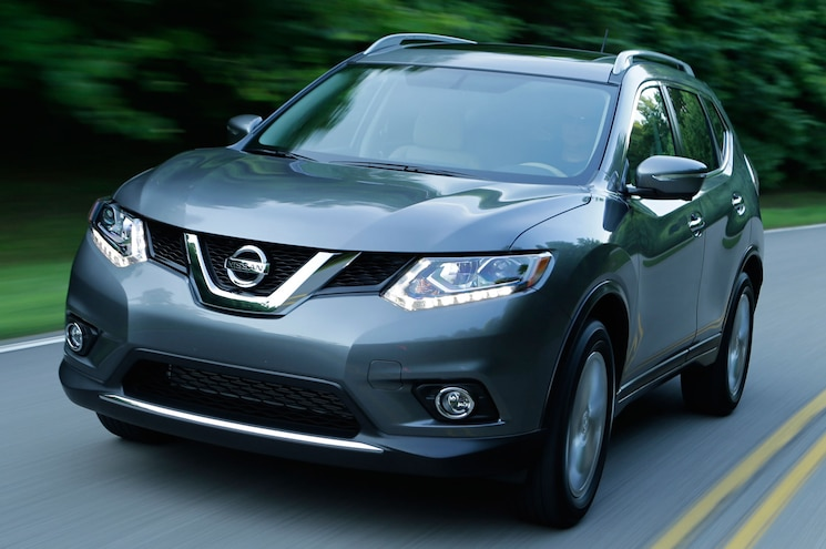 2014 Nissan Rogue Front Left Side