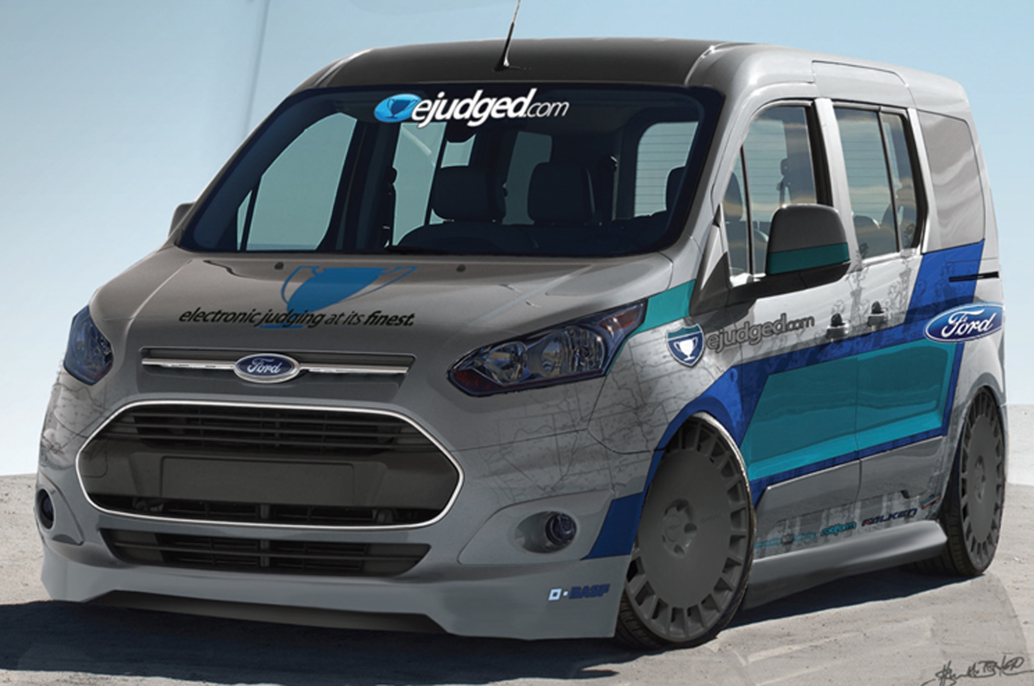 2014 Ford Transit Connect EJudged Concept