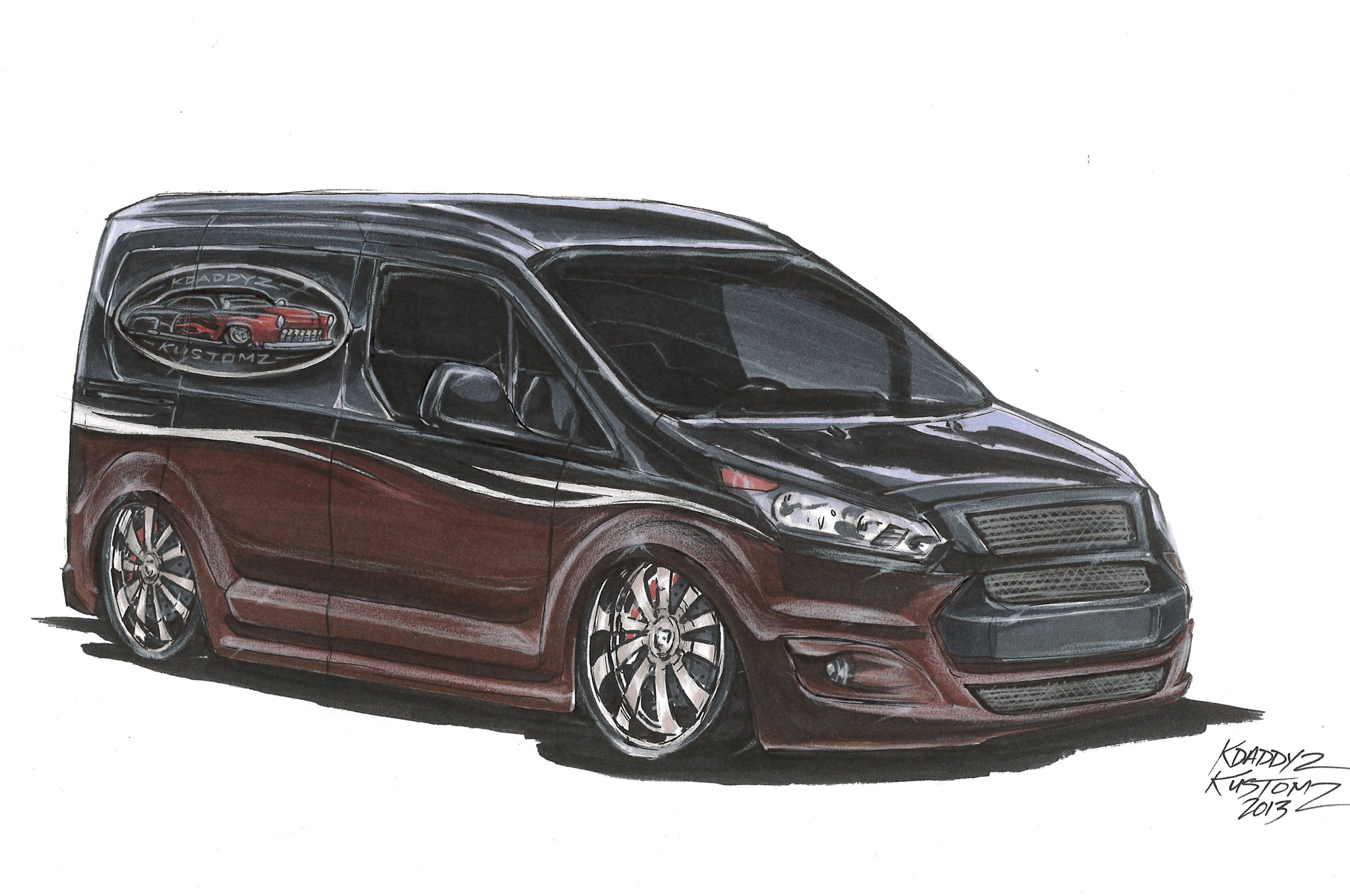 2014 Ford Transit Connect K Daddyz Kustomz Concept