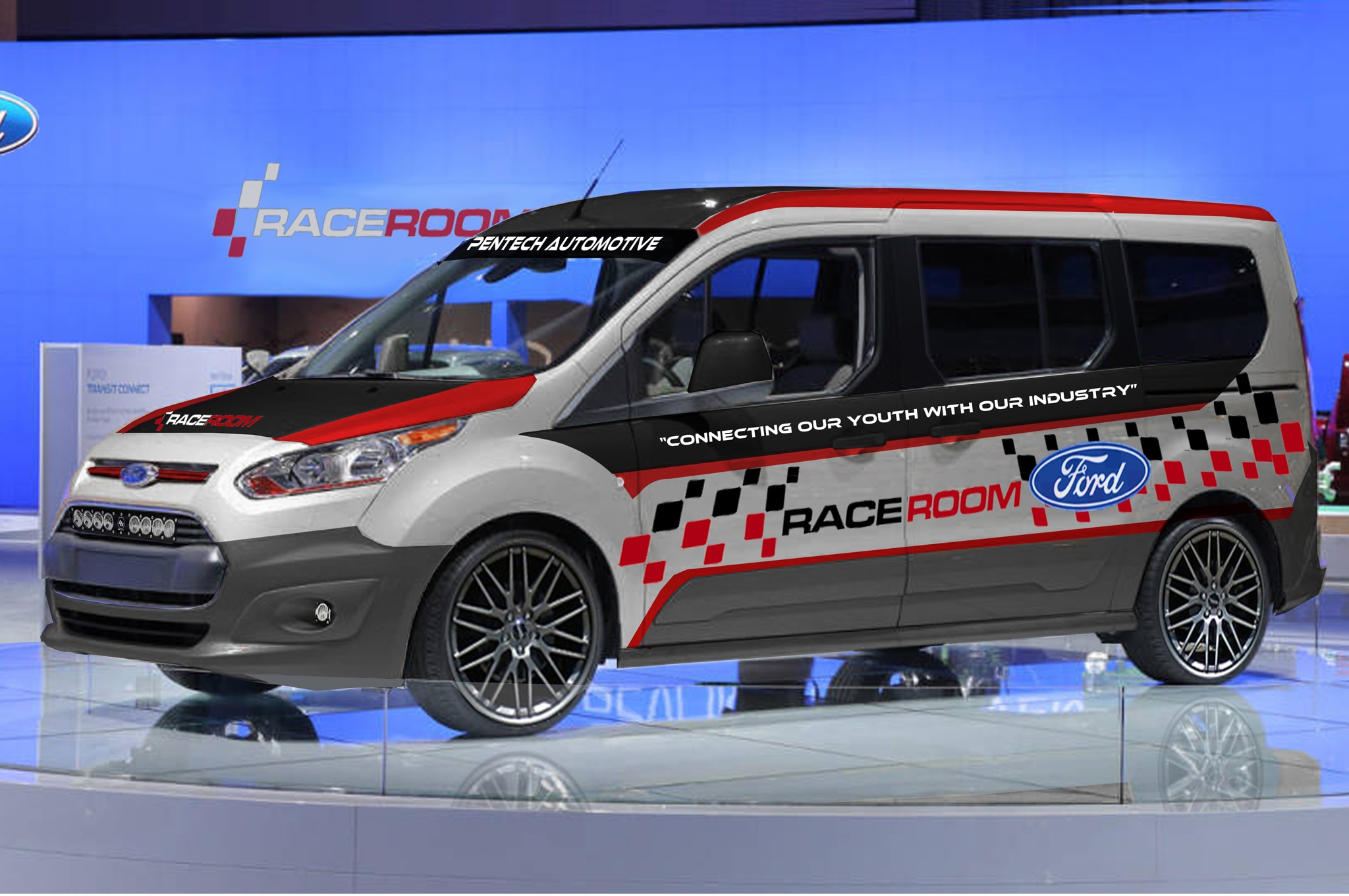 2014 Ford Transit Connect Pentech Automotive Concept