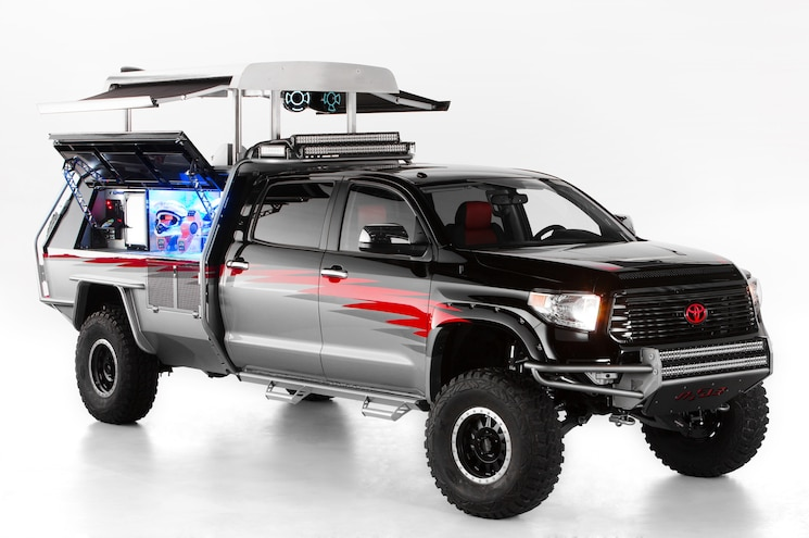 Toyota Previews SEMA Show Trucks, SUVs