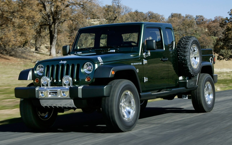 Jeep Pickup Truck May Come, But Not Anytime Soon