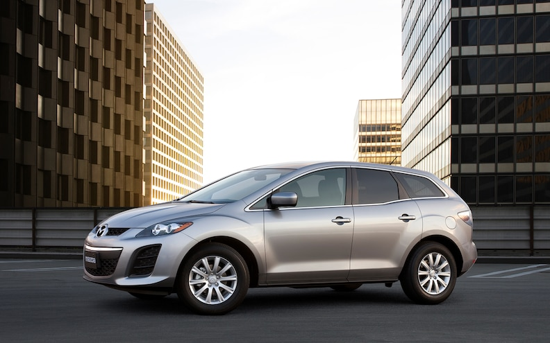 2012 Mazda CX 7 Front Side View
