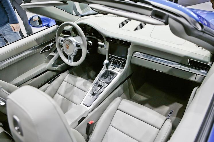 2014 Porsche 911 Targa Interior