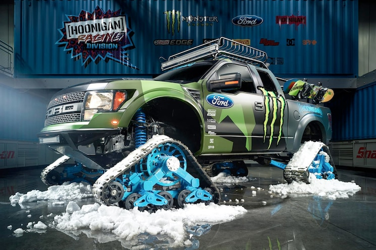 "Ken Block and Friends Take Full Advantage of RaptorTRAX in ""Shredfest"""