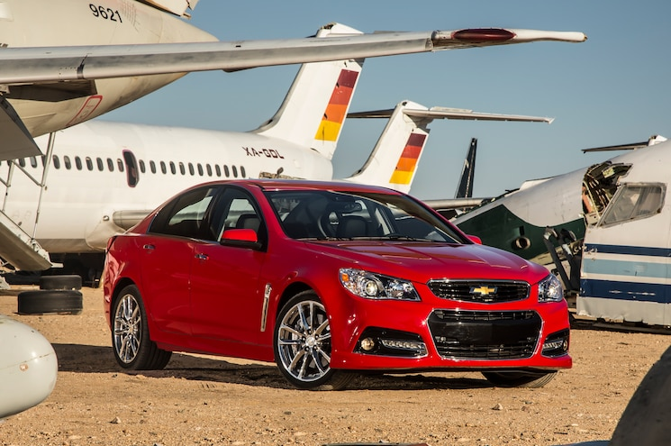 2014 Chevrolet SS Front Three Quarters