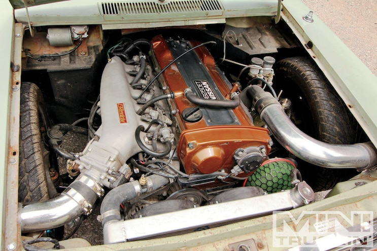1969 Datsun 520 Engine