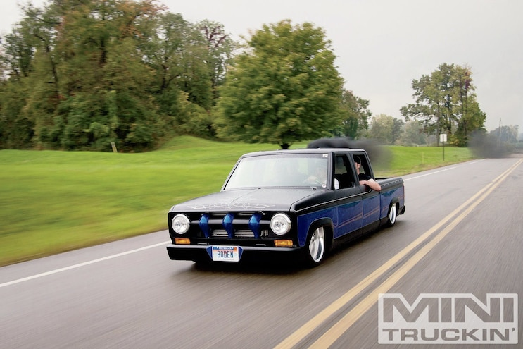 1985 Ford Ranger In Motion Front Three Quarter