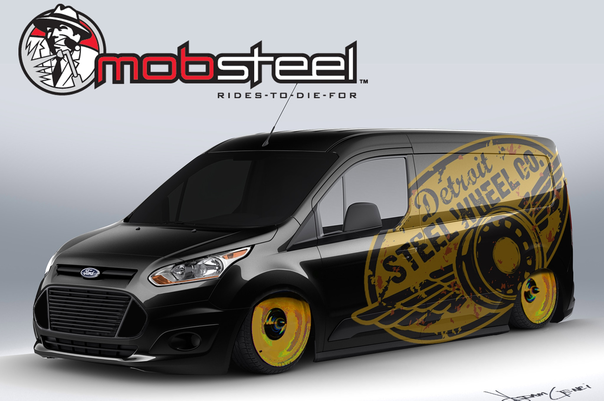 2014 Ford Transit Connect Mobsteel Concept