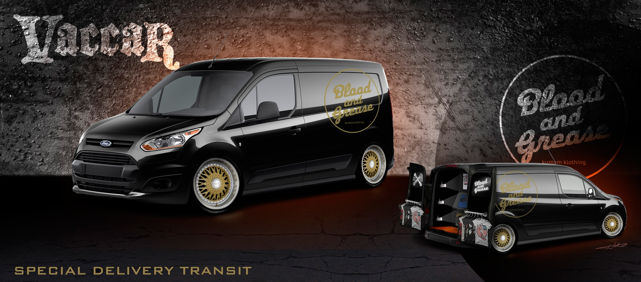 2014 Ford Transit Connect Vaccar Concept