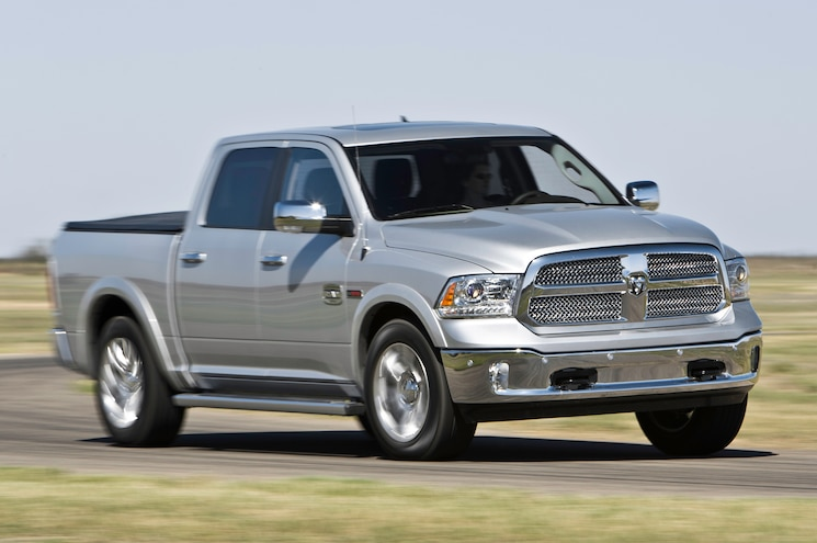 2014 Ram 1500 Ecodiesel V6 Front View