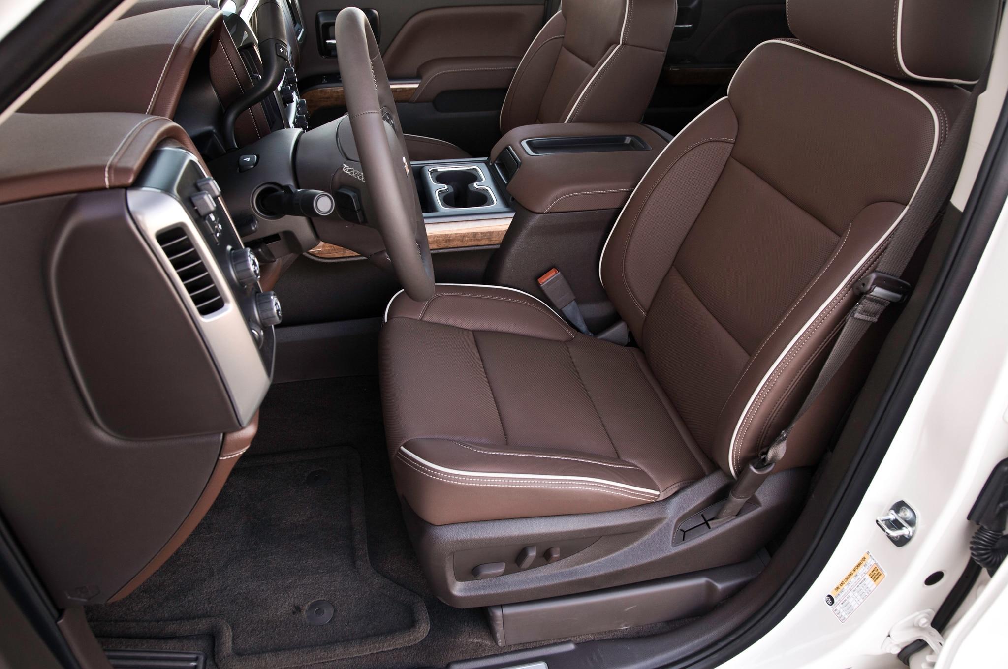 2014 Chevrolet Silverado High Country 4x4 First Test ...