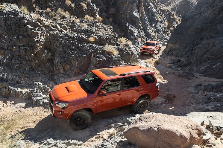 2015 Toyota 4Runner TRD Pro With Tacoma