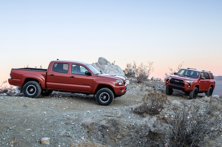 2015 Toyota Tacoma TRD Pro With 4Runner