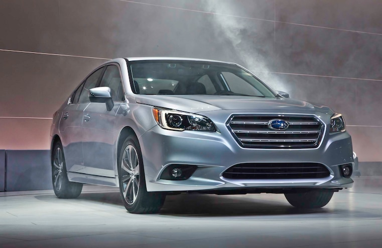 2015 Subaru Legacy Front Three Quarters