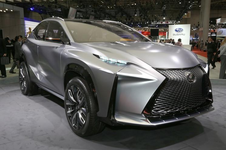 Lexus LF-NX Turbo Concept Hits the 2013 Tokyo Motor Show Floor