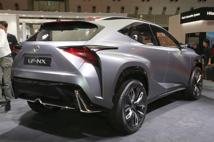 Lexus LF NX Turbo Concept Rear Three Quarters