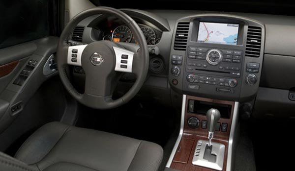 2008 Nissan Armada Interior View