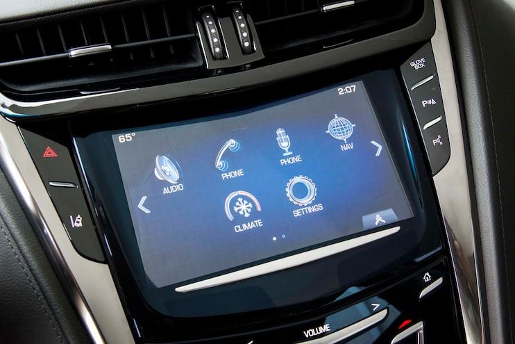 2014 Cadillac CTS Vsport Home Screen