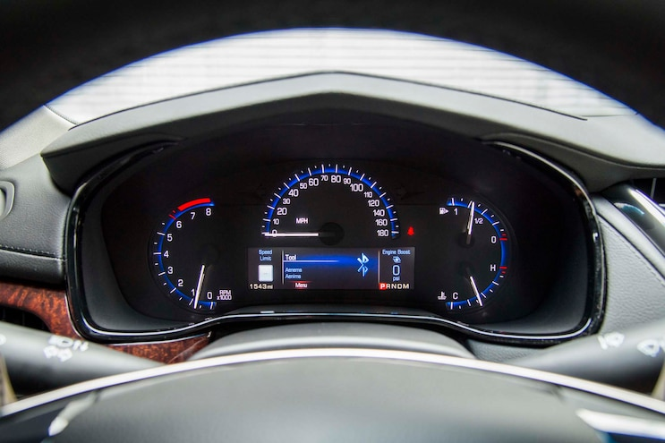 2014 Cadillac CTS Vsport Instrument Cluster