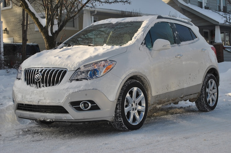 2014 Buick Encore Polar Vortex Front Side View Parked