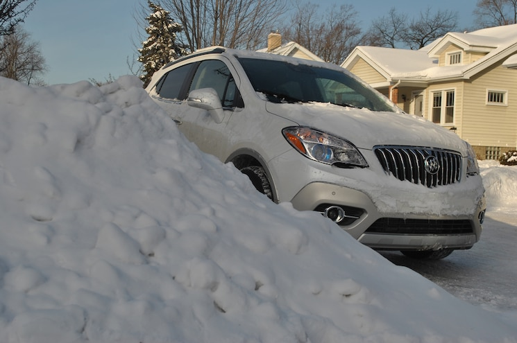 2014 Buick Encore Winter Drive