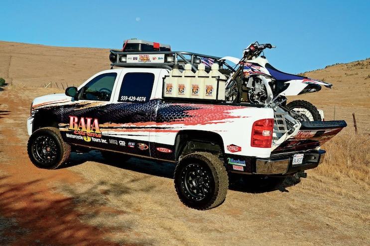 2009 Chevrolet Silverado Baja Chase Truck - 8-Lug Work Truck