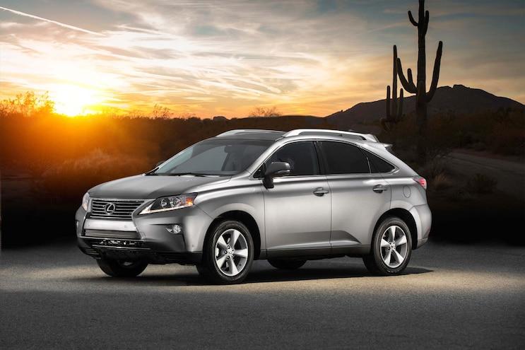 2015 Lexus RX 350, RX 450h Get Minor Updates