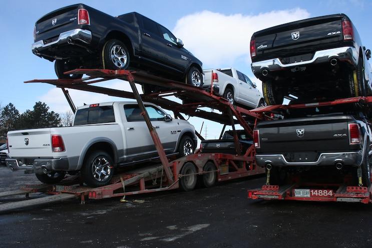 2014 Ram 1500 Ecodiesel Rear Carrier Warren Truck Assembly Plant Feb 26 2014