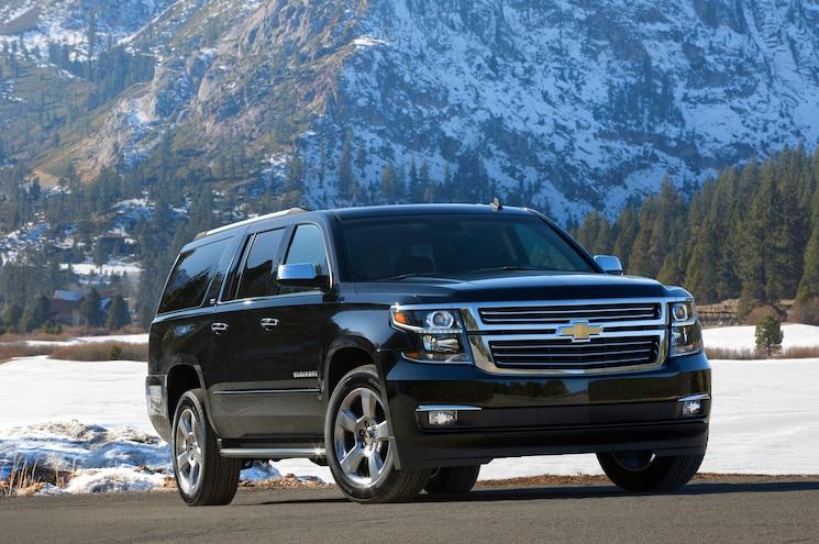 2015 Chevrolet Suburban Front Three Quarter