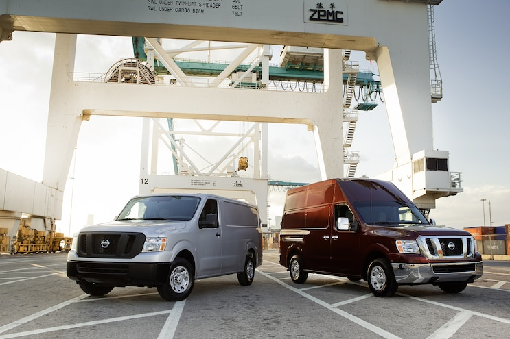 2014 Nissan NV Front View