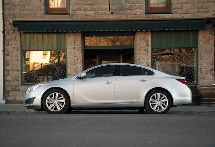 2014 buick regal turbo side profile  view photo gallery | 20 photos