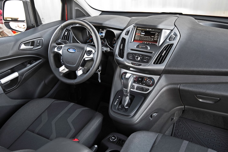 2014 Ford Transit Connect Dash View