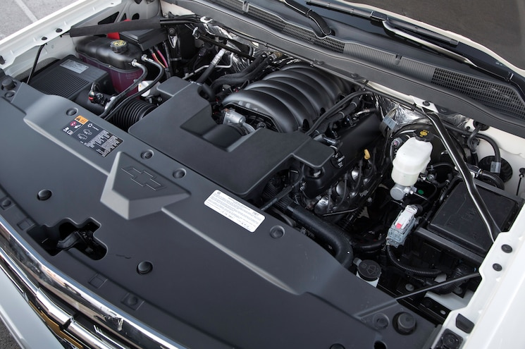 2014 Chevrolet Silverado 1500 HighCountry Engine View