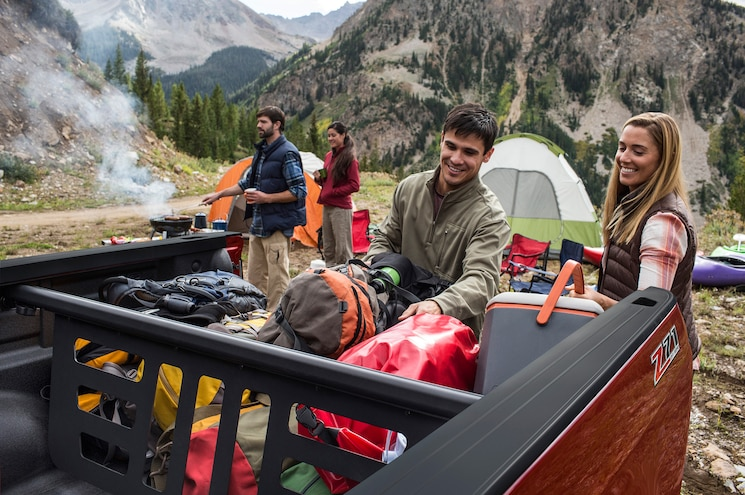 2015 Chevrolet Colorado Camping Equipment