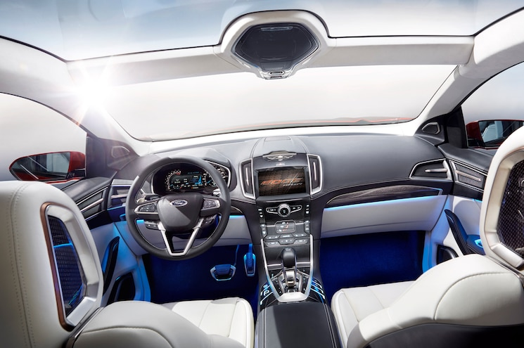 Ford Edge Concept Dash View