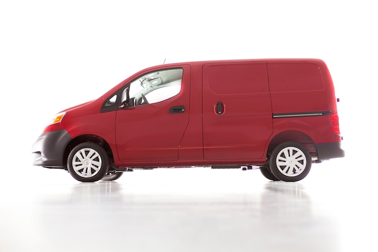 2014 Nissan NV200 Side View