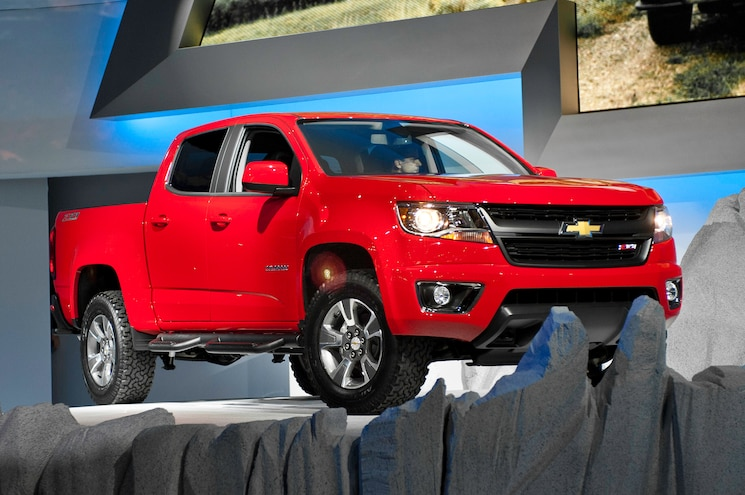 2015 Chevrolet Colorado First Look