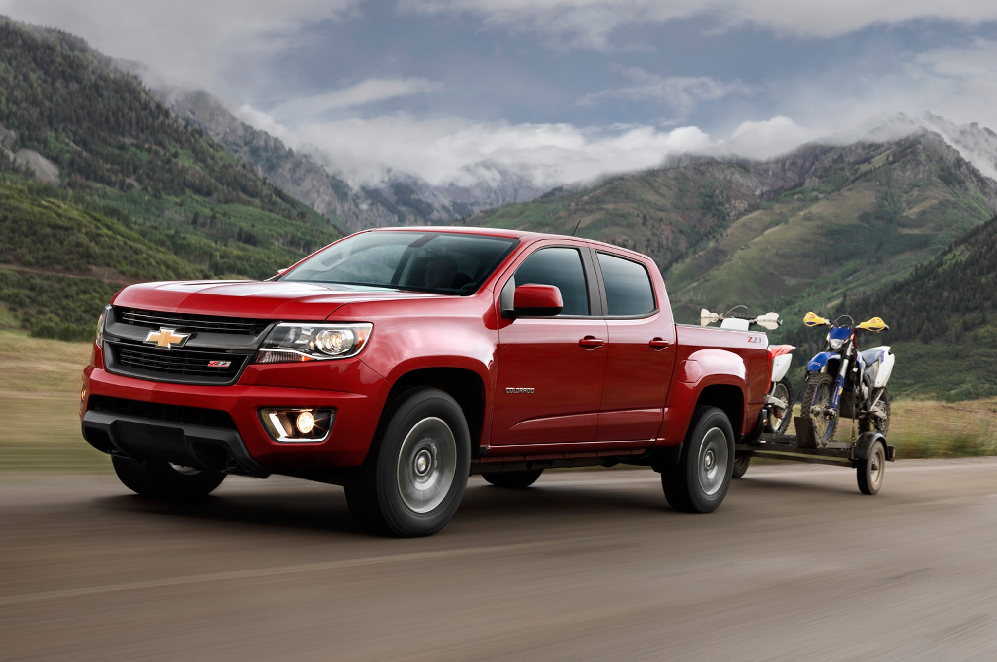 2015 Chevrolet Colorado Slightly Heavier Than Tacoma, Lighter Than Frontier