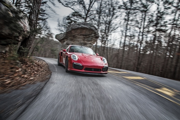 2014 Porsche 911 Turbo S Front End In Motion