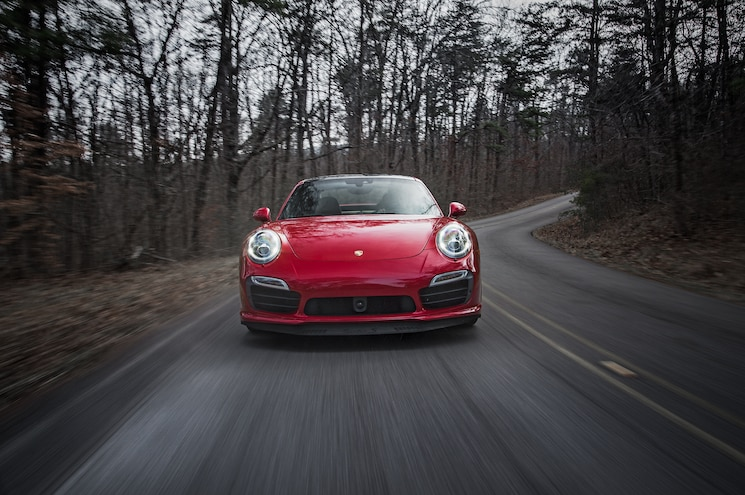 2014 Porsche 911 Turbo S Front End In Motion 02