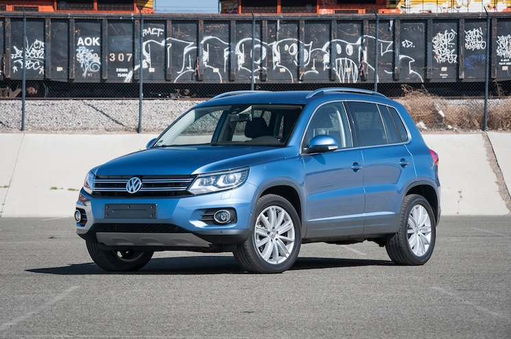 2014 Volkswagen Tiguan TDI Front Three Quarters