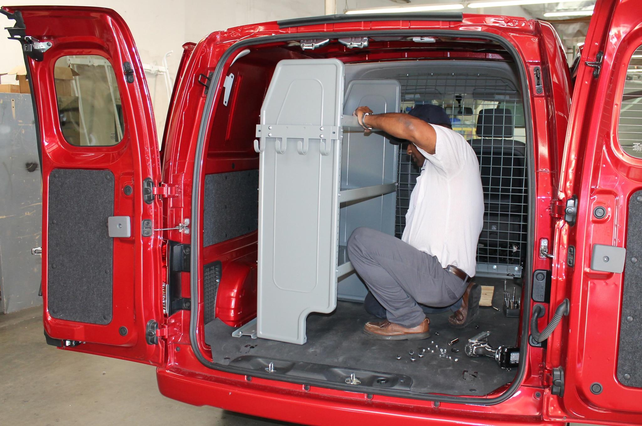 Nissan Nv200 Adrian Steel Cargo Management Tech Install