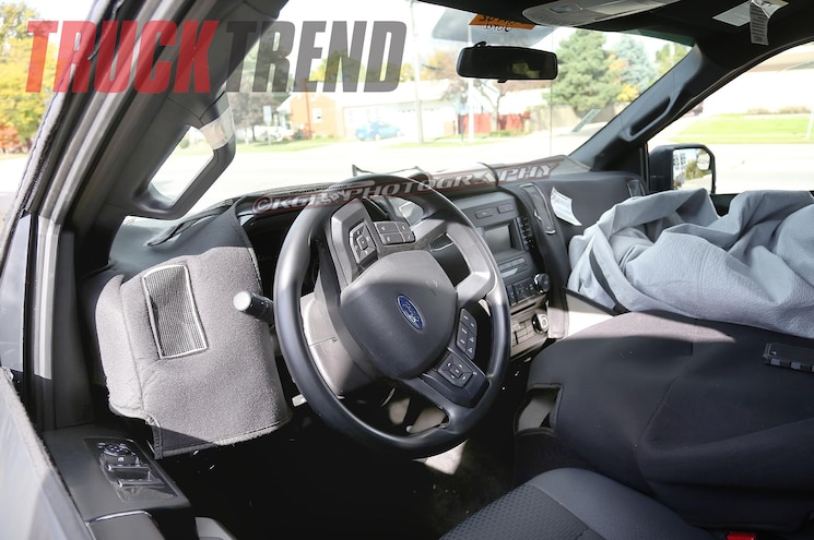 Caught! 2015 Ford F-150 Prototype Interior Photos!