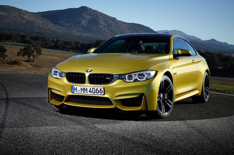 2015 BMW M4 With Mountains