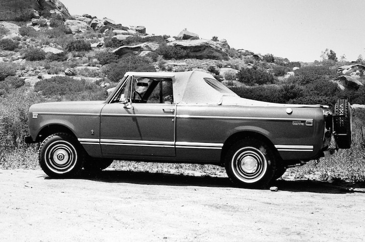 1978 International Scout Terra Suntanner Pickup – Truck Trend History