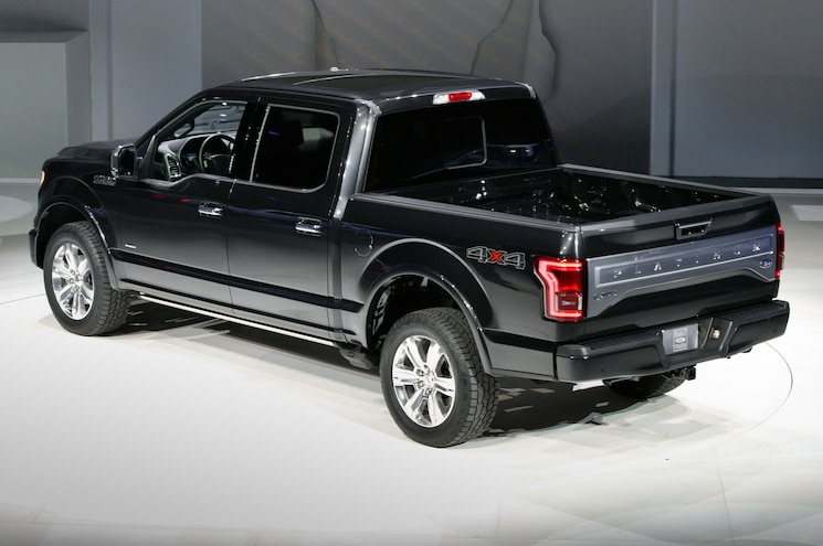 2015 Ford F 150 In Detroit Rear Side View