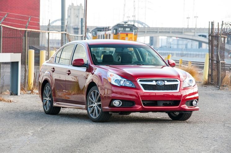 2014 Subaru Legacy 2.5i Sport First Test